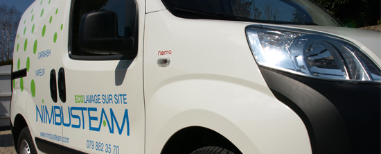 Mobile Cleaning Vehicle - Citroen Nemo